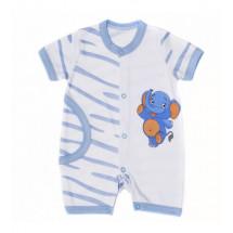 """Песочник для малышей голубого цвета с рисунком на попке """"Сафари"""""""